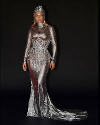 Beyonce Wore Burberry To The 2021 Grammys After-Party