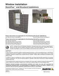 Window Installation Stormplus And Structural Installation