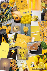 Yellow Aesthetic Wallpaper Collage ...