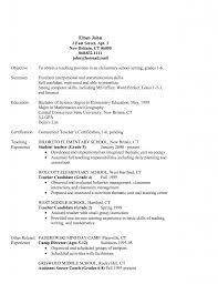 Restaurant Resume Objectives 18 Objective Techtrontechnologies Com