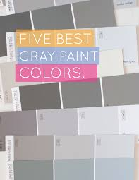 True Blue Paint Color Alice And Lois5 Best Gray Paint Colors