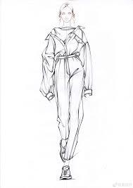Clothes Design Sketch Model Model Dress Like This Fashion Illustration Dresses