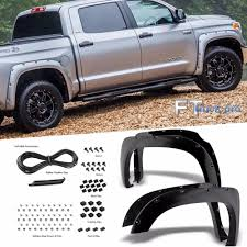 2014-2016 Toyota Tundra Pocket Riveted Fender Flare Wheel Cover ...