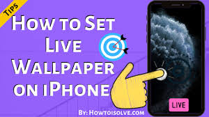how to set live wallpaper on iphone 13
