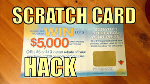 scratch card hack trick how to win 5000 without scratching a scratch card you