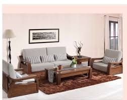 2014 New design simple fabric sofa set was made from American ash