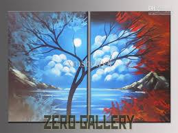800x600 2018 handicraft modern art canvas drawing tree of life canvas oil