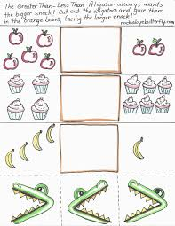 Greater Than Less Than Worksheet Kindergarten Worksheets for all ...