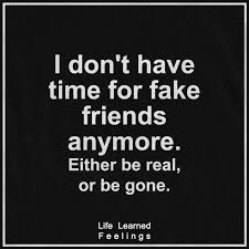 Beautiful Quotes On Success I Don't Have Time For Fake Friends Fascinating Gone Friends Quotes Pics