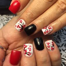 67 Best Red Nail Art Design Ideas. 29 Red Finger Nail Art Designs ...