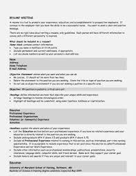 Gallery Of Some Examples Of Resume