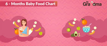6 Month Diet Chart 6 Month Baby Food Chart For Indian Baby Print 6 Month Baby