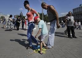 Европа без виз: Украинцы в России и оккупированном Крыму активно оформляют биометрические паспорта - Цензор.НЕТ 5513