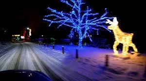 Niagara Falls Holiday Lights Winter Festival Of Lights Niagara Falls Christmas Morning 2017 4k Video