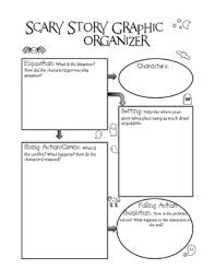 scary story graphic organizer by linsie fell teachers pay teachers scary story graphic organizer
