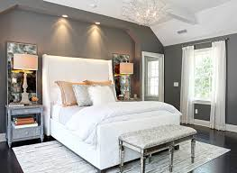 white headboard bedroom ideas. Simple White Grey Bedroom Ideas Applied White Bedding Design With Soft Headboard To A