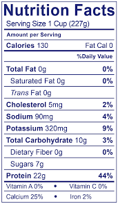 0 fat greek plain nutrition facts