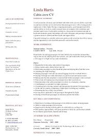 Cvs Resume Paper Lovely Cabin Crew Resume Example Examples Of