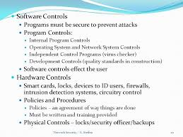 20 software network security officer