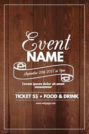 Template Event Poster Wallpaper Para Flyer New Real Estate