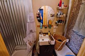 tiny house bathrooms. Image Of: Tiny House Bathrooms