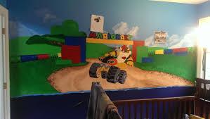 Mario Bedroom Mario Kart 8 Themed Baby Nursery I Am Currently Working On Wiiu