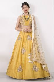 Lehenga Design In Yellow Colour Youdesign Raw Silk Lehenga Choli In Yellow Colour Size Upto 66