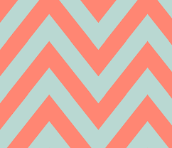 Mint and coral Wedding Invitation Spoonflower Mint Coral Chevron Large Fabric Mgterry Spoonflower