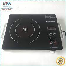 Bếp hồng ngoại bếp điện quang cảm ứng 2 vòng nhiệt NineShield 2200W tiết  kiệm điện Bảo hành 12 tháng giảm tiếp 550,000đ