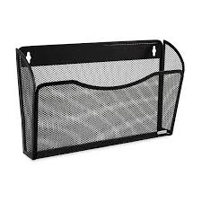 rolodex mesh collection single pocket wall file black 21931 co uk office s