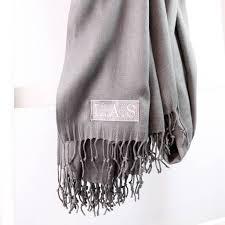 personalised pashmina style shawl