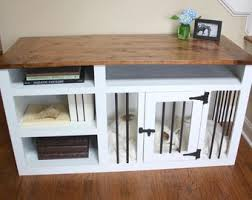 pet bed furniture. Made To Order Custom Built Dog Crate Furniture, Kennel Solid Wood With Pet Bed Furniture N