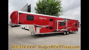 38ft 2016 work and play fifth wheel toy hauler that is perfect for your toy haulin needs