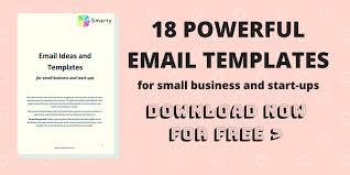 18 Powerful Email Templates To Grow Your Business