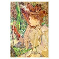 portrait of honorine platzer 1891 by henri de toulouse lautrec art gallery oil painting