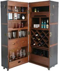 Kare Design Wardrobe Trunk Bar Colonial Home Armoire