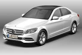 It combines dynamic proportions with reduced design lines and sculptural surfaces. 3d 2014 Mercedes Benz C Class Cgtrader