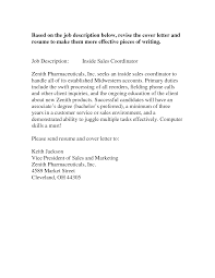 Gallery Of Cover Letter For Sales And Marketing Cover Letters For