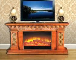 antique wooden fireplace mantel tv stand decorative electric firebox insert realistic flame electric fireplace electric fireplace