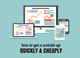 How To Get A Great Looking Website Up Quickly Cheaply Bixa Media