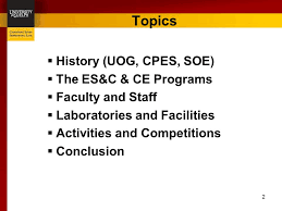 engineering systems computing and computer engineering ready for   cpes soe  the es c ce programs  faculty and staff  laboratories and facilities  activities and competitions  conclusion topics