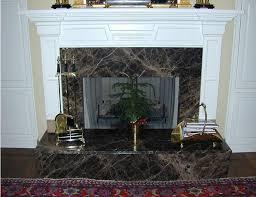 emperador dark marble install fireplace