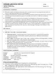 Comfortable Sap Pp Support Resume Contemporary Entry Level Resume
