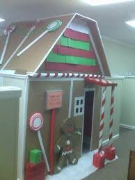 christmas decorating ideas office. Maybe This Will Give You Some Ideas! (By The Way, Sign On Front Reads \ Christmas Decorating Ideas Office C