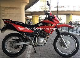 honda honda xr125 150 150cc hire in hanoi offroad vietnam dirt bike