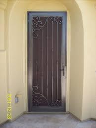 security screen door. Cascade Security Screen Door