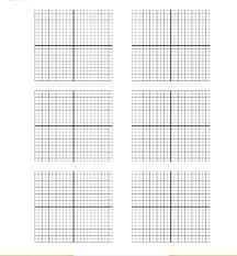 4 Free Printable Coordinate Graph Paper Templates Graph Paper