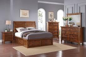 Sonoma Bedroom Furniture Sonoma 5 Piece Queen Storage Bedroom Package Medium Brown The