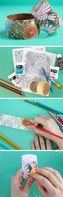diy coloring page bracelets for mother s day last minute mothers day gift ideas diy