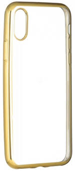 <b>Клип</b>-<b>кейс Oxy Fashion MetallPlated</b> для Apple iPhone X golden ...